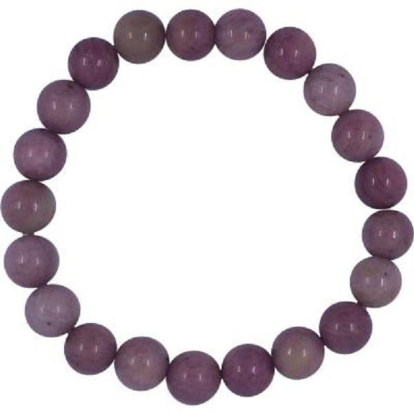 Bracelet 8mm Rhodonite | Earthworks