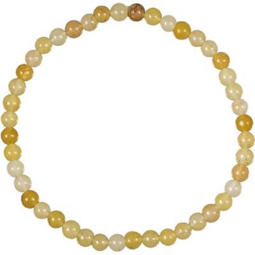 Bracelet 4mm Yellow Jade | Earthworks