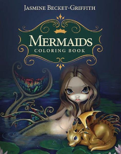 Mermaid Colouring Book | Earthworks