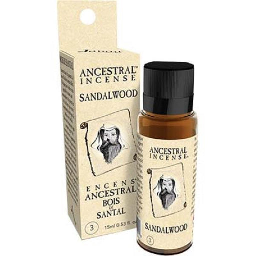 Ancenstral Incense Oil 15ml Sandalwood | Earthworks