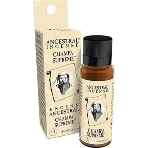 Ancestral Incense Oil 15ml Champa Supreme | Earthworks