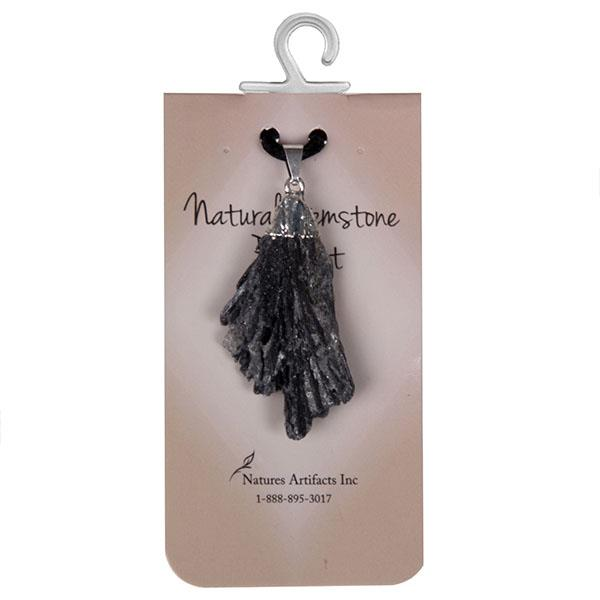 Pendant Black Kyanite | Earthworks