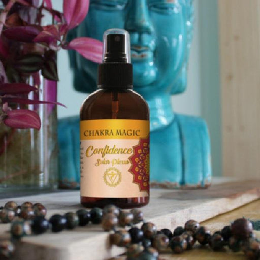 Chakra Magic Confidence Spray Solar Plexus | Earthworks