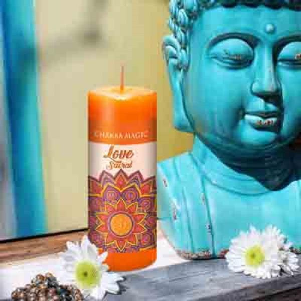 Chakra Magic Candle Sacral | Earthworks