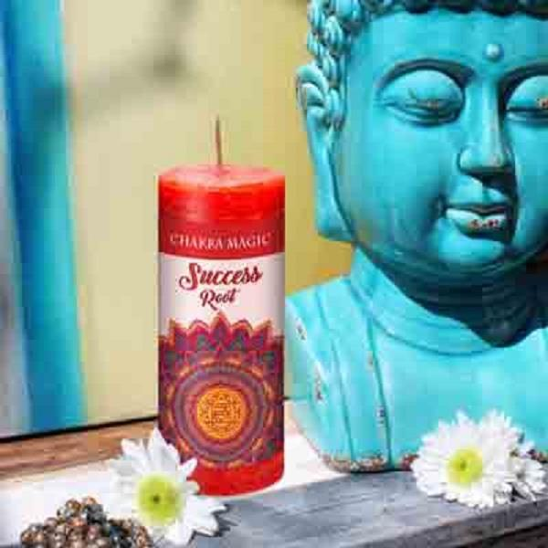 Chakra Magic Candle Root | Earthworks