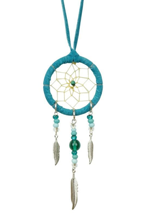 "1.5"" Dreamcatcher Turquoise 
