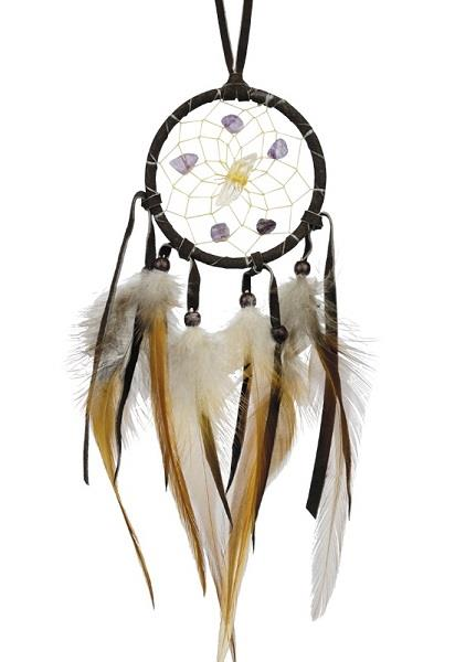 "2.5"" Vision Seeker Dreamcatcher Dark Brown 