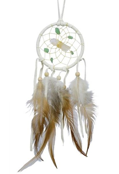 "2.5"" Vision Seeker Dreamcatcher White 