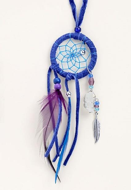"Dreamcatcher 1.5"" Magical Necklace Royal 