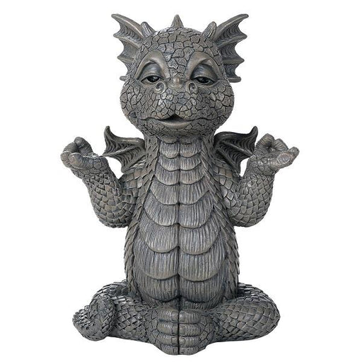 Statue Garden Dragon Meditating | Earthworks