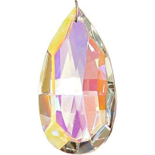 63mm Crystal Tear Drop Aurora Borealis | Earthworks