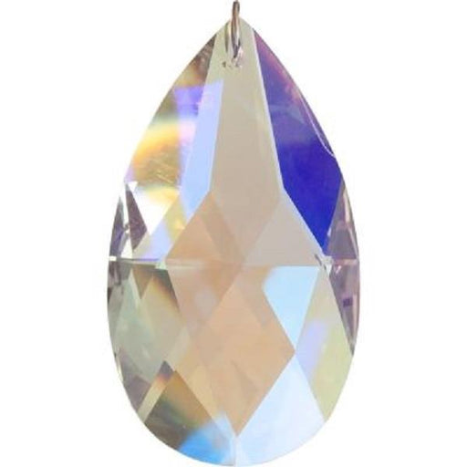 65mm Crystal Tear Drop Aurora Borealis | Earthworks