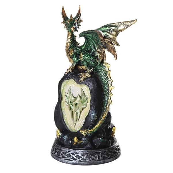 Statue Green Dragon LED | Earthworks