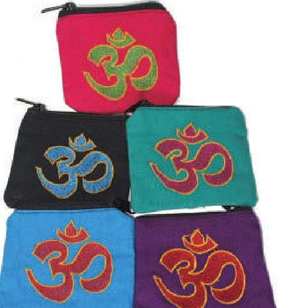 Zipper Pouch Om Assorted | Earthworks