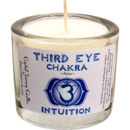 Soya Wax Candle Third Eye Chakra 2"