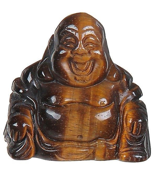 Tiger's Eye Buddha 1.5"