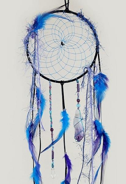 "6"" Dreamcatcher Magical Black"