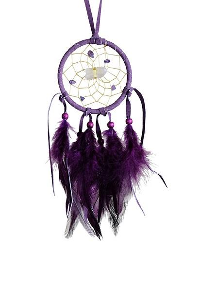 "2.5"" Vision Seeker Dreamcatcher Purple 