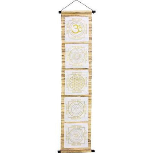 Wall Banner Sea Grass Sacred Symbols