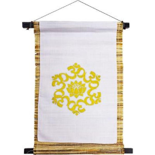 Wall Banner Sea Grass Om Lotus | Earthworks