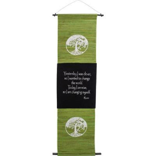 Wall Banner Sea Grass Tree of Life | Earthworks