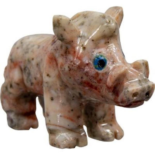 Spirit Animal Dolomite Boar 1.25"
