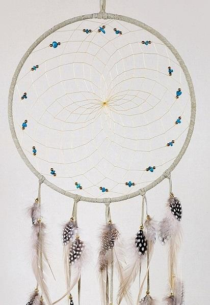 "9"" Natural Tan Dreamcatcher 