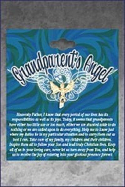 Friendship Pin Grandparents Angel | Earthworks