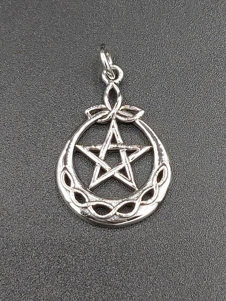 Pendant Celtic Pentacle Sterling Silver | Earthworks