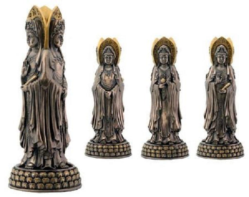 Kwan Yin Three Sided | Earthworks