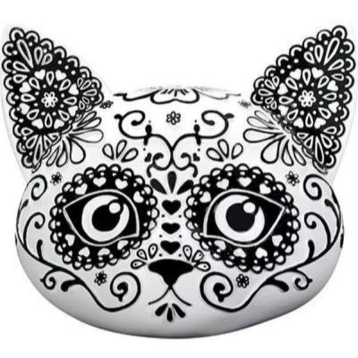 "Day of the Dead 4.5"" Cat Head 