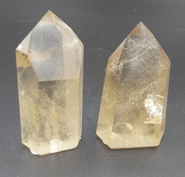 Citrine Point Natural Approximately 81g