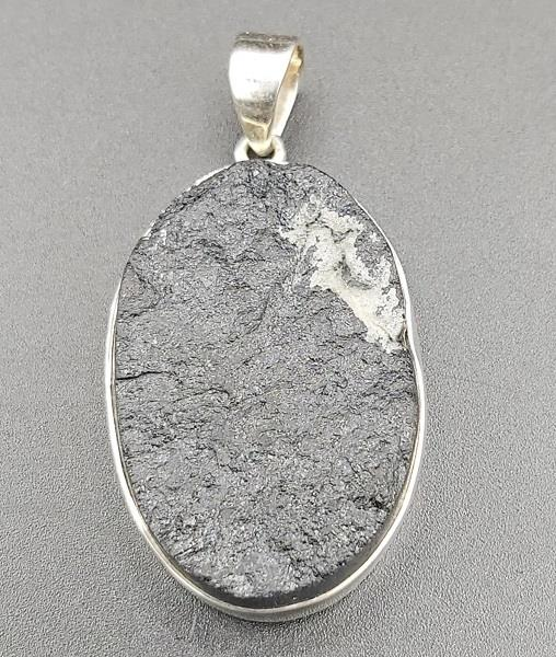 Pendant Black Tourmaline Sterling Silver