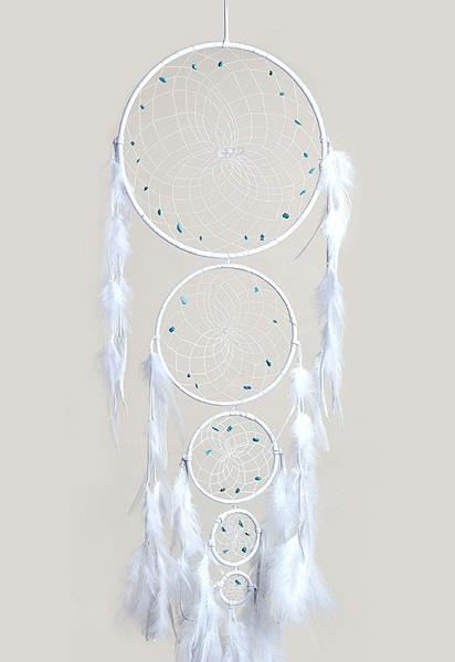 "9"" Dreamcatcher Generations White"