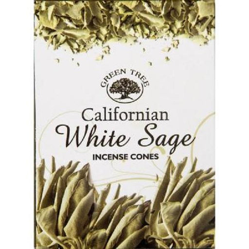 Green Tree Incense White Sage 10pk cones | Earthworks