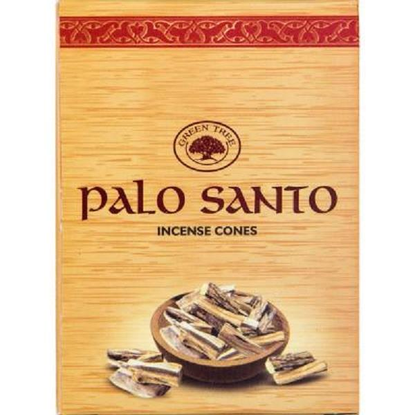 Green Tree Incense Palo Santo 10pk cones | Earthworks