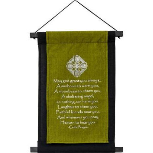 Wall Banner Celtic Prayer