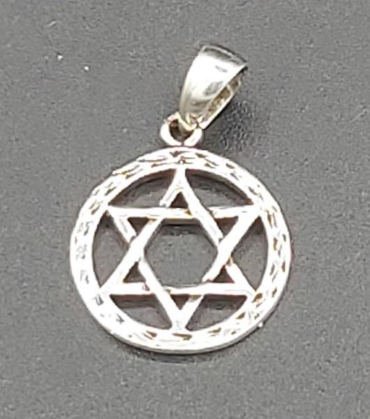 Pendant Star Of David Sterling Silver