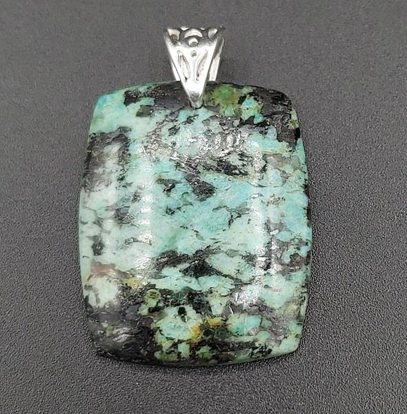 Pendant Norway Turquoise Sterling Silver
