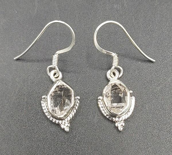 Earrings Herkimer Diamond Sterling Silver