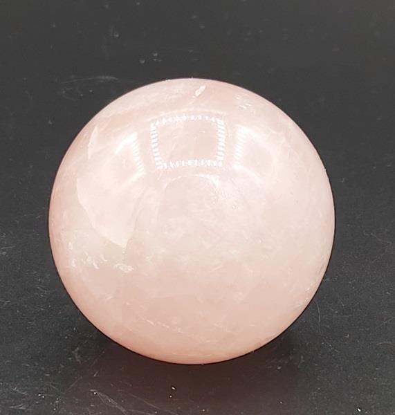 Rose Quartz Sphere 105g Approximate