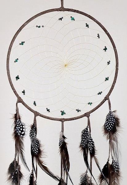 "9"" Natural Brown Dreamcatcher 