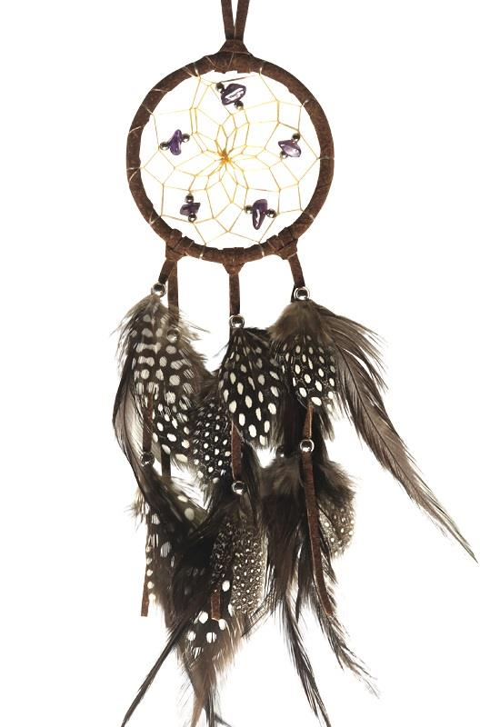 "2.5"" Natural Dreamcatcher Brown 