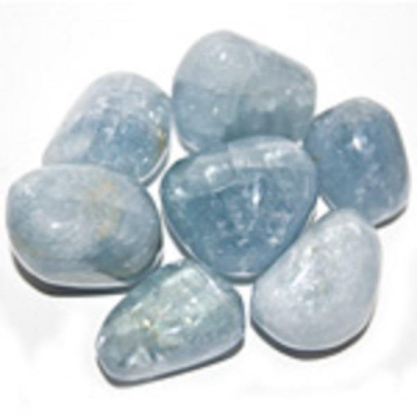 Celestite Tumbled | Earthworks