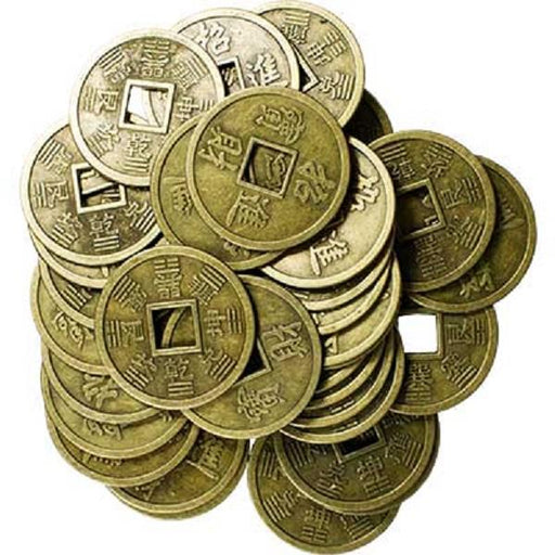 40mm I Ching Coins 1 pair | Earthworks