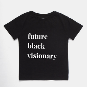 Black Visionary Kid's T-Shirt- BLACK