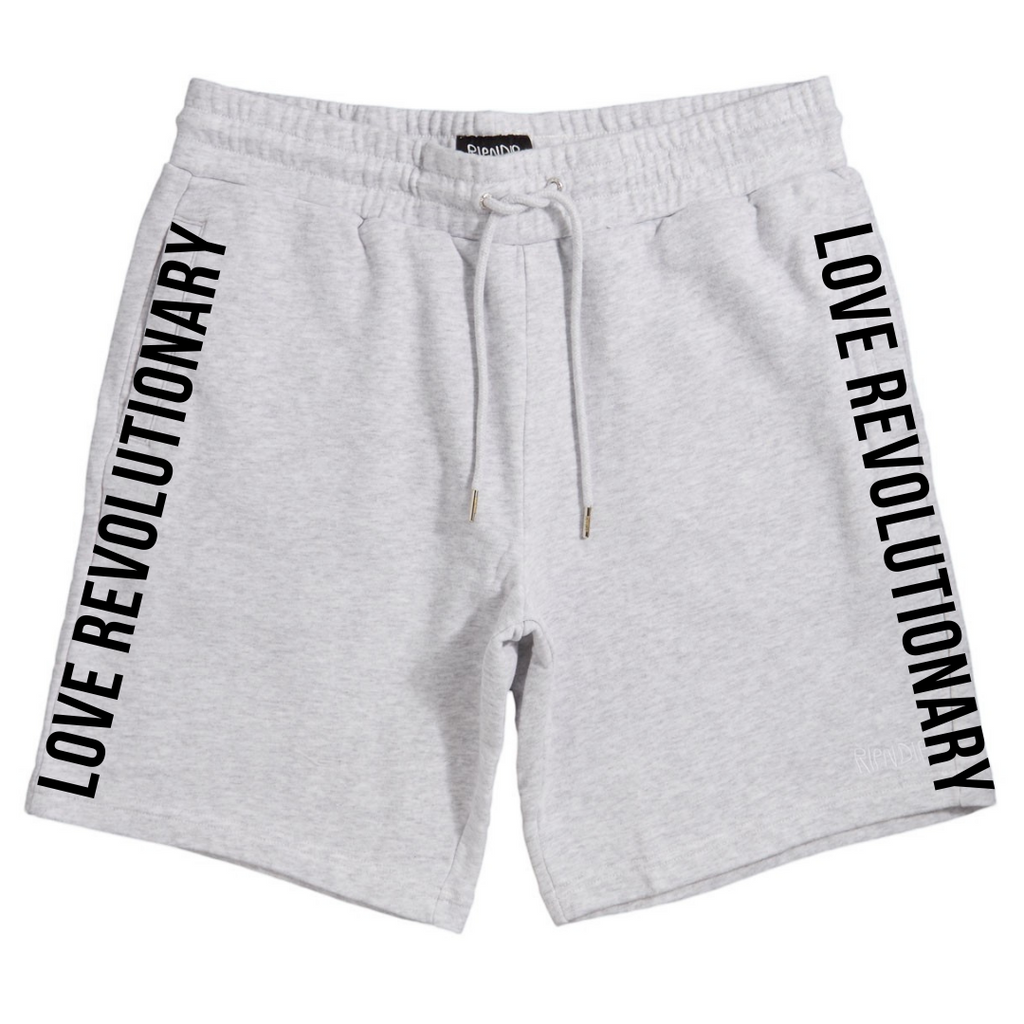 Love Revolutionary Unisex Shorts - Grey