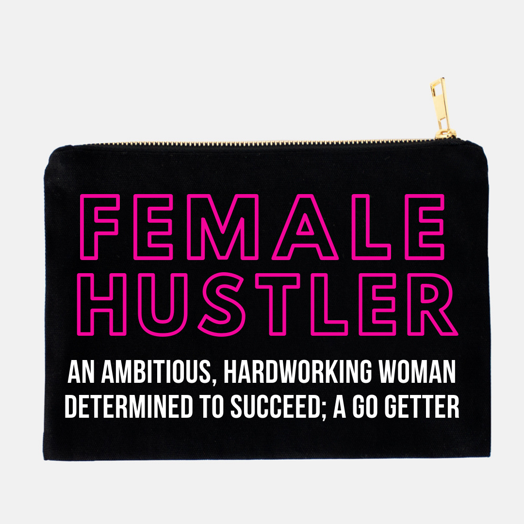 Female Hustler Make-up Clutch *LIMITED EDITION*
