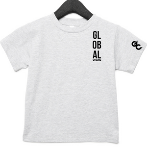 Global Vision Kid's T-Shirt- GREY
