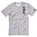 Global Vision Unisex T-Shirt- GREY